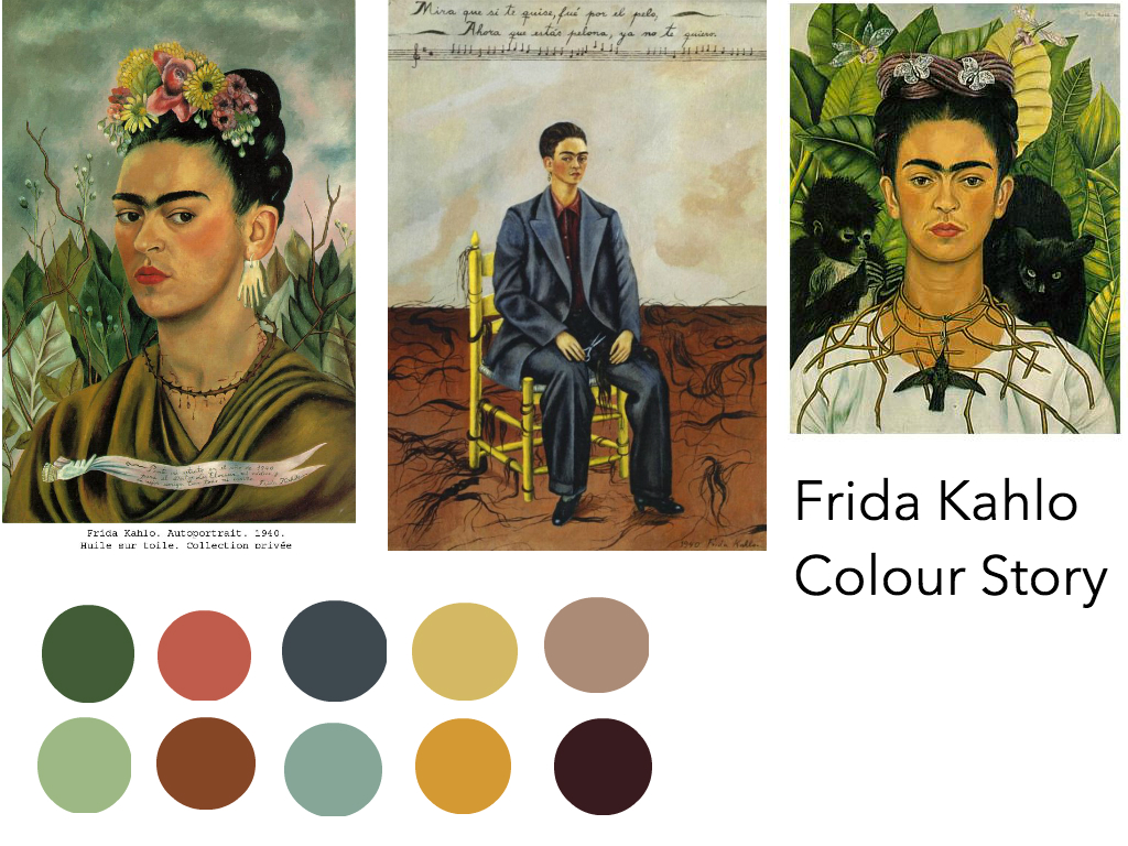 Frida Kahlo Colour Story
